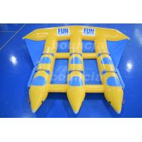 China 0.9mm Durable PVC Tarpaulin Inflatable Flying Fish Boat For Sale wholesale