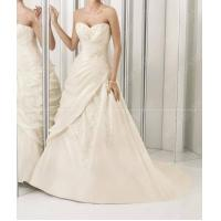 China hot sale beaded embroidered wedding gown MR0054 wholesale