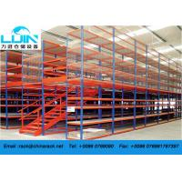 China Attic Pallet Rack Supported Mezzanine Racking System Corrosion protection on sale