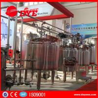 China CE Approved Commercial Beer Brewing Equipment Electric / Steam / Directing Hearting wholesale