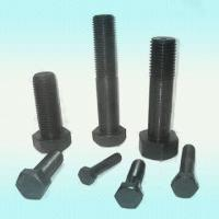 China A193 B7M Black Hexagon Bolts, Stud Bolts And Nuts For Industrial and Engineering wholesale