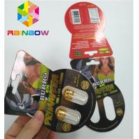 China 3d Lenticular Packaging Burro Brand Paper Card Box Single Double Hole Including Bottle on sale