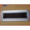 China VGAケーブルが付いているアルミニウム電気隠された机によって取付けられる電力ソケット wholesale