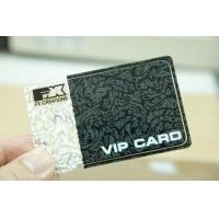 China Carve Stainless Steel Custom Metal Business Cards Silk Screen Rounded Corner wholesale