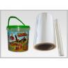 50 Mic Core Based Biodegradable Shrink Film PLA Shrink Sleeve Labels Film for sale