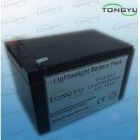 China 12Ah 12V LiFePO4 Battery For Solar Powered Lights With No Memory Effect on sale