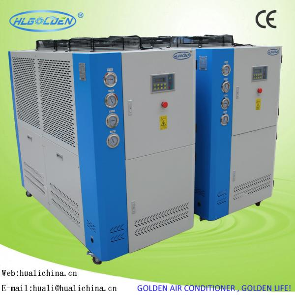 Quality 3 - 45 P Air To Water Industrial Small Air Cooled Mini Water Chiller Low Noise for sale