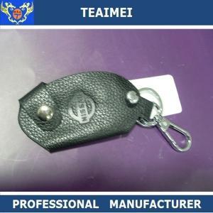 China Nissan Automotive Customizable Handmade Leather Key Holder Small Keychain Wallet wholesale