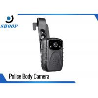China 64GB WIFI Portable Body Camera , DVR Infrared Police Body Worn Video Camera wholesale