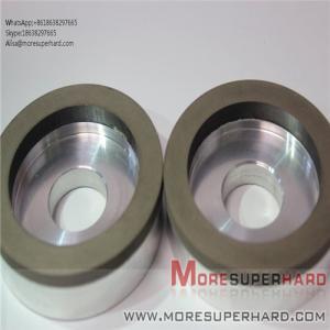 China 6A2 The resin bond diamond is easy to dress the superhard diamond grinding wheel  Alisa@moresuperhard.com wholesale
