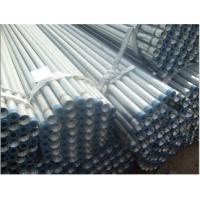 China hot dip galvanized steel pipe threaded on both ends on sale