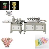 China Green Enviramental Colorful Paper  drinking Straw  Making Machine Product on sale