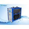 China Unidad refrigerada por agua 380V de la CA de 8 de HP del condensador de agua unidades portátiles dobles del refrigerador wholesale