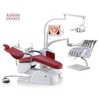 China A6600 Dental Equipment Portable Dental Unit Soft Leather Seat With LED Dental Lamp wholesale