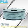 China Professional Gray PLA 3d Printer Filament , 3D Printing Consumables Material wholesale