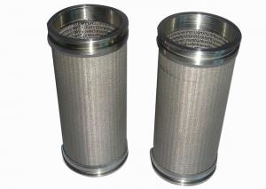 China Square Hole 5 Layers 20μM Sintered Metal Filter Polishing wholesale