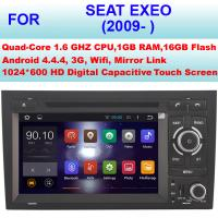 Buy cheap OBD Internet 2009+ Seat Exeo Car Radio GPS , Double Din Car Stereo Bluetooth Sat Nav from wholesalers