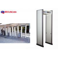 China SECUSCAN Walk Through Metal Detector With remote controller for detect gun weapons wholesale