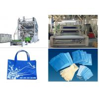 China 1.6 m / 2.4m Non Woven Fabric Production Line SSS PP Spunbonded wholesale