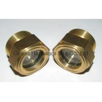 China male thread BSP 3/8 inch oil levels and windows with tempered glass wholesale