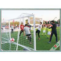 Professional 7 / 5 / 3 / 11 Man Aluminium Soccer Goal Football Goal Long Lifetime