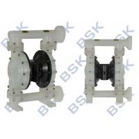 China Membrane Pump Plastic Diaphragm Pump Air Operated With Butterfly Valves wholesale