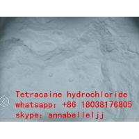 China Local Anesthetic Drugs Tetracaine HCl CAS 136-47-0 for  pain killer wholesale