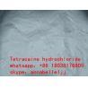 Local Anesthetic Drugs Tetracaine HCl CAS 136-47-0 for  pain killer