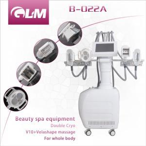 China B-022A Fat freezing machine / 4in1 fat freezeing + Velashape + V10 microcurrent machine wholesale