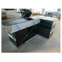 Buy cheap Retail Cash Register Checkout Counter / Customized Checkout Stand For Shop from wholesalers