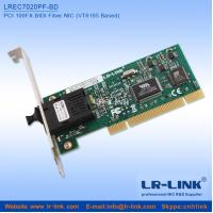 China LR-LINK LREC7020PF-BD 100M BIDI PCI Port Network Adapter NIC (VT6105 Based) wholesale