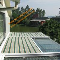 China Green House Motorized Remote Control Conservatory Roof  Electrically Operated Sky Awning wholesale
