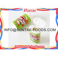 Sour Candy in Circle Shape / Watermelon Flavor, Red and Green Dots / Sugar Free