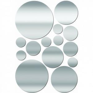 China Decorative mirrored wall stickers wholesale