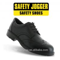 China Leather Upper Steel Toecap Safety Shoes / EXCECUTIVE - Safety Jogger / Manager wholesale