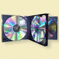 China Multi-4 CD Jewel Cases, Available in Different Colors on sale