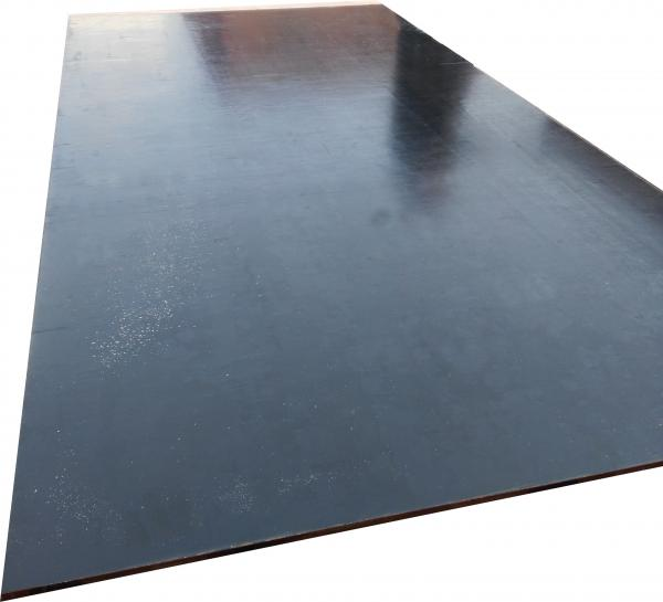 Quality Paulownia MR Film Faced Shuttering Plywood , Black Film Plywood For Formwork for sale