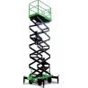 China Manual Pushing Mobile Scissor Lift Table Aerial Work Platform 500kg 12m wholesale