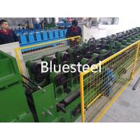 China Adjustable Size Cold Roll Forming Machine , C Z Purlin Forming Machine 415V / 440V wholesale