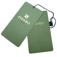 China Customized Paper / Cardboard Printed Hang Tag For Garments, Colthing, Toys wholesale