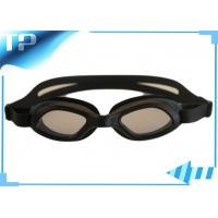 China Soft Youth Anti Fog Prescription Swim Goggles With Adjustable Strap on sale