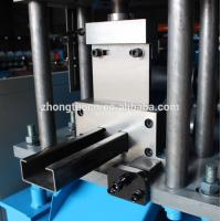 China PLC Control Door Frame Roll Forming Machine / CZ Purlin Machine For Building wholesale