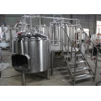 China Full-Automatic Custom Home Beer Brewing Equipment 100L - 5000L wholesale
