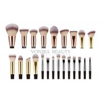 China 23 Pieces Synthetic Private Label Makeup Brushes / Handmade Makeup Brushes wholesale