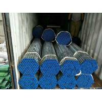 China 4 Inch 6mm hot dip galvanized erw steel tube structure building materials wholesale