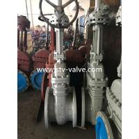 China API 6D Class 150 Carbon Steel Gate Valve with Flange End,16 Inch,Bolt Bonnet ,Gear Op. wholesale