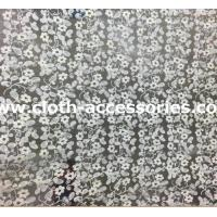 China 1.35M Applique Mesh Netting Fabric / Bridal Lace Fabric For Wedding Dresses on sale