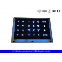 China Illuminated Panel Mount Industrial Numeric Keypad With 6x4 Matrix Keys wholesale