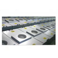 China Air Conditioning Commercial Fan Filter Galvanized Sheet High Air Flow on sale