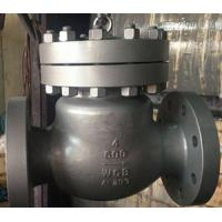 China Carbon Steel Check Valve, ASTM, 4IN, CL600, RF wholesale